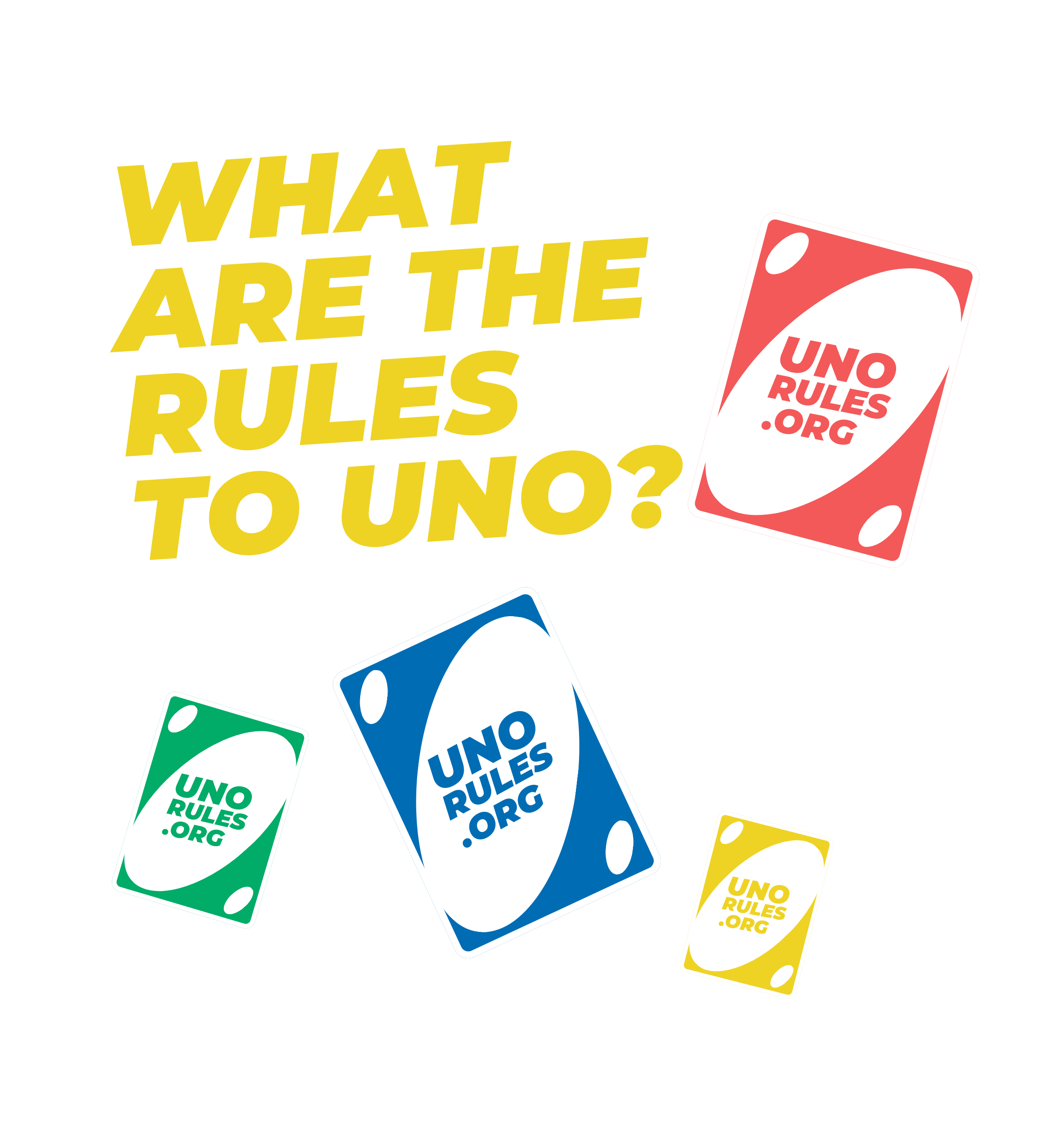 Uno Rules - What are the rules to uno front