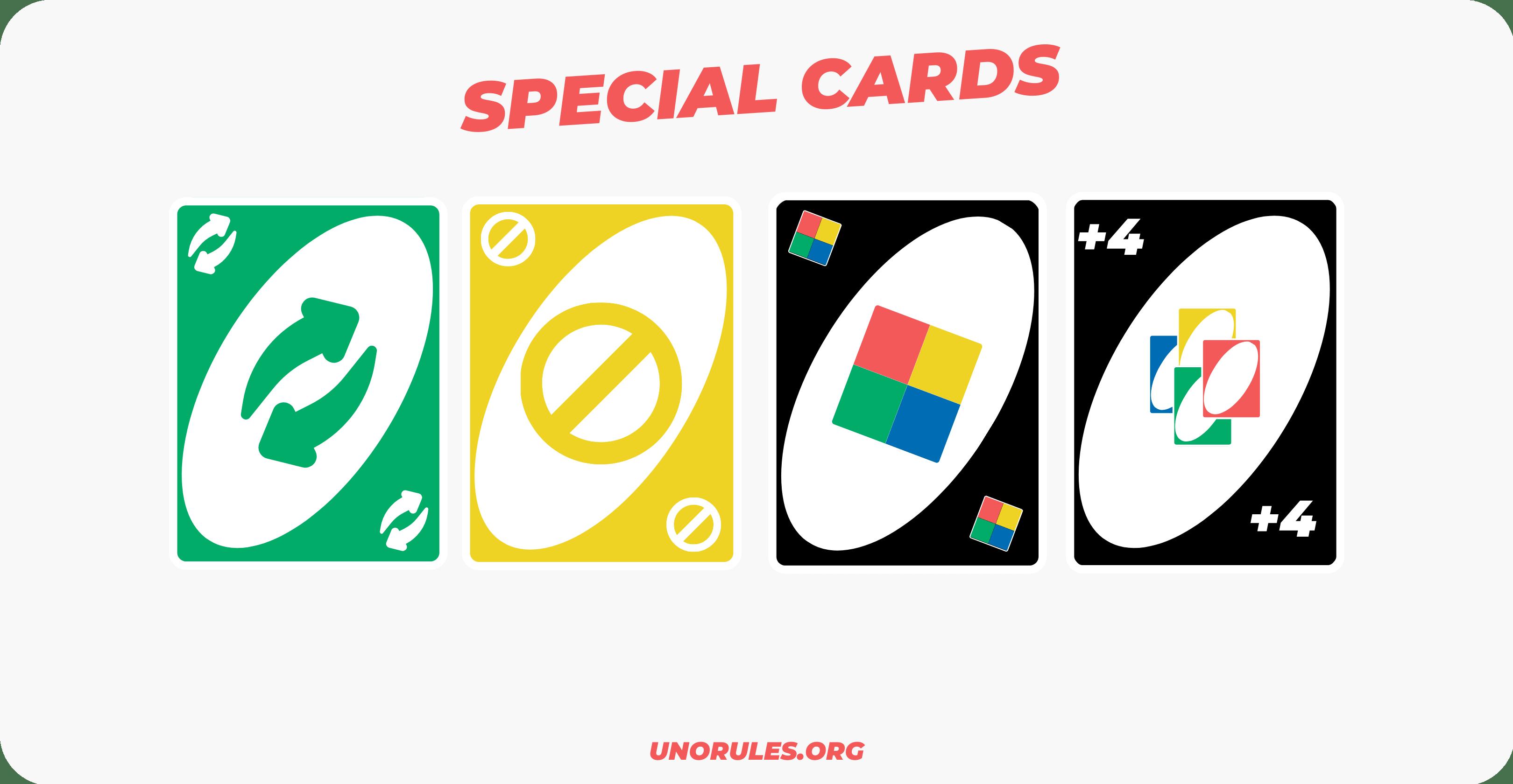 Uno special cards