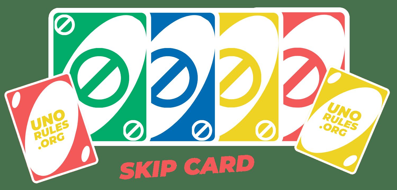 Uno Skip Card