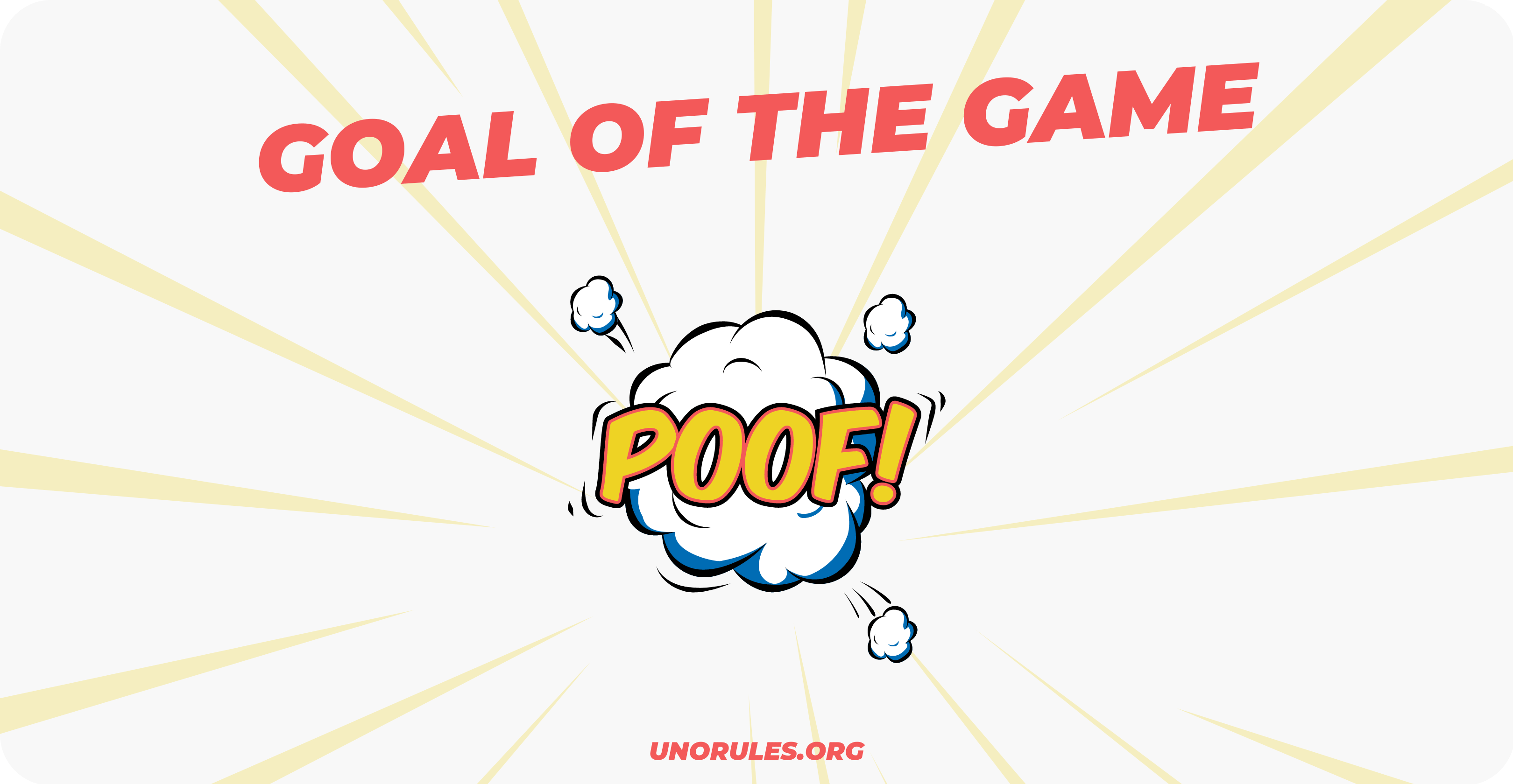 Uno attack - goal of the game