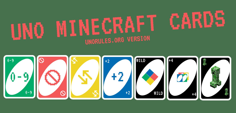 Uno minecraft cards icon - unorules.org