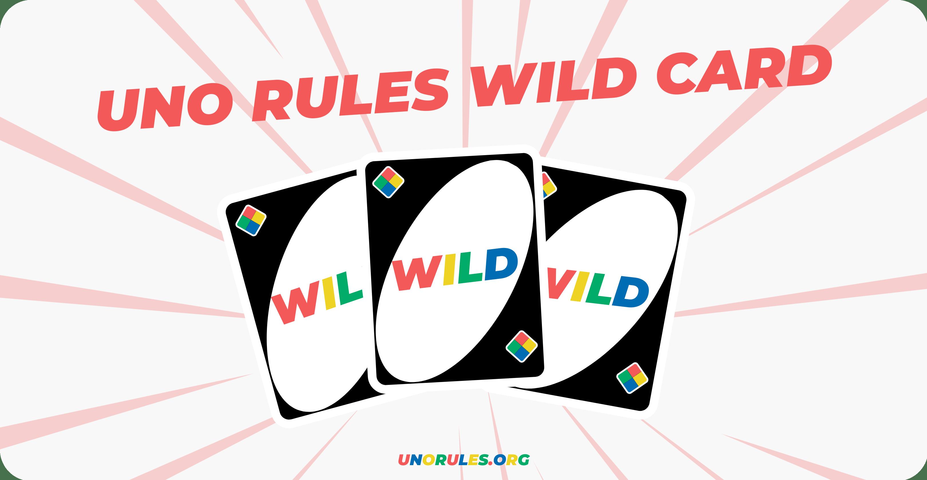 Uno rules wild card