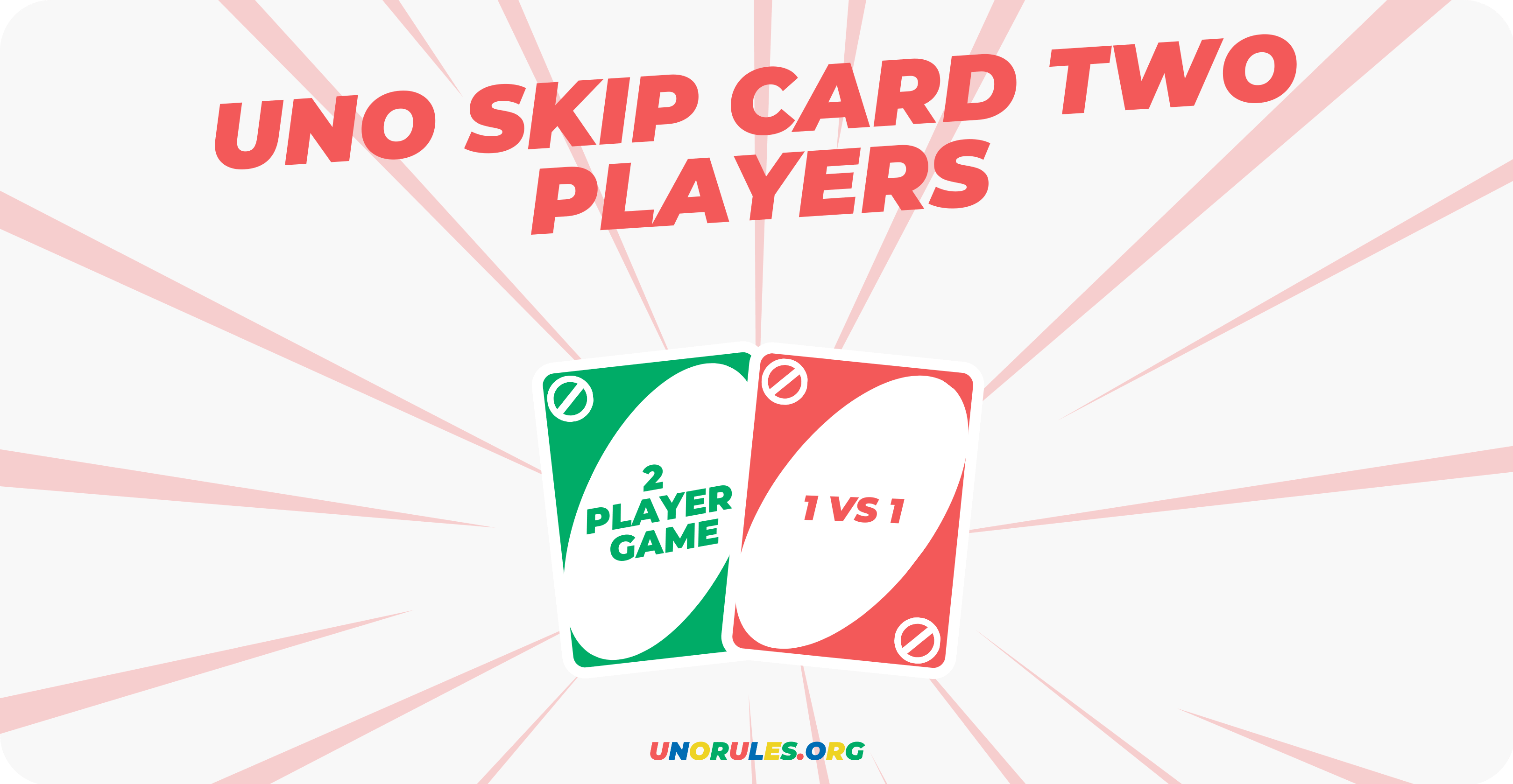 Uno skip card two players