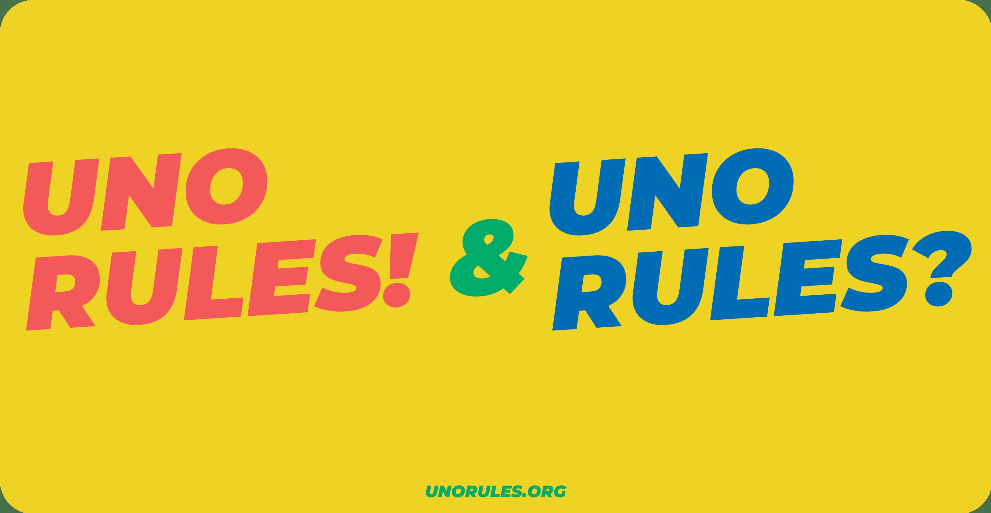 UnoRules vs UnoRules