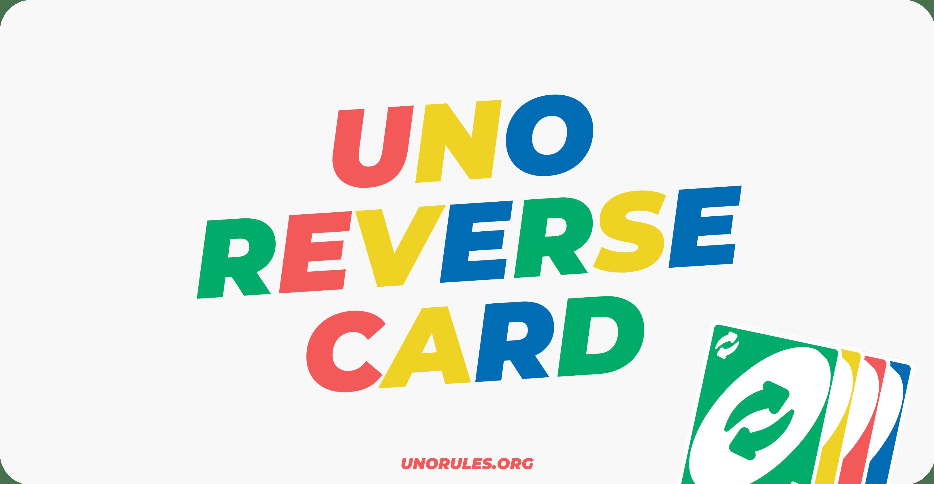 reverse uno card