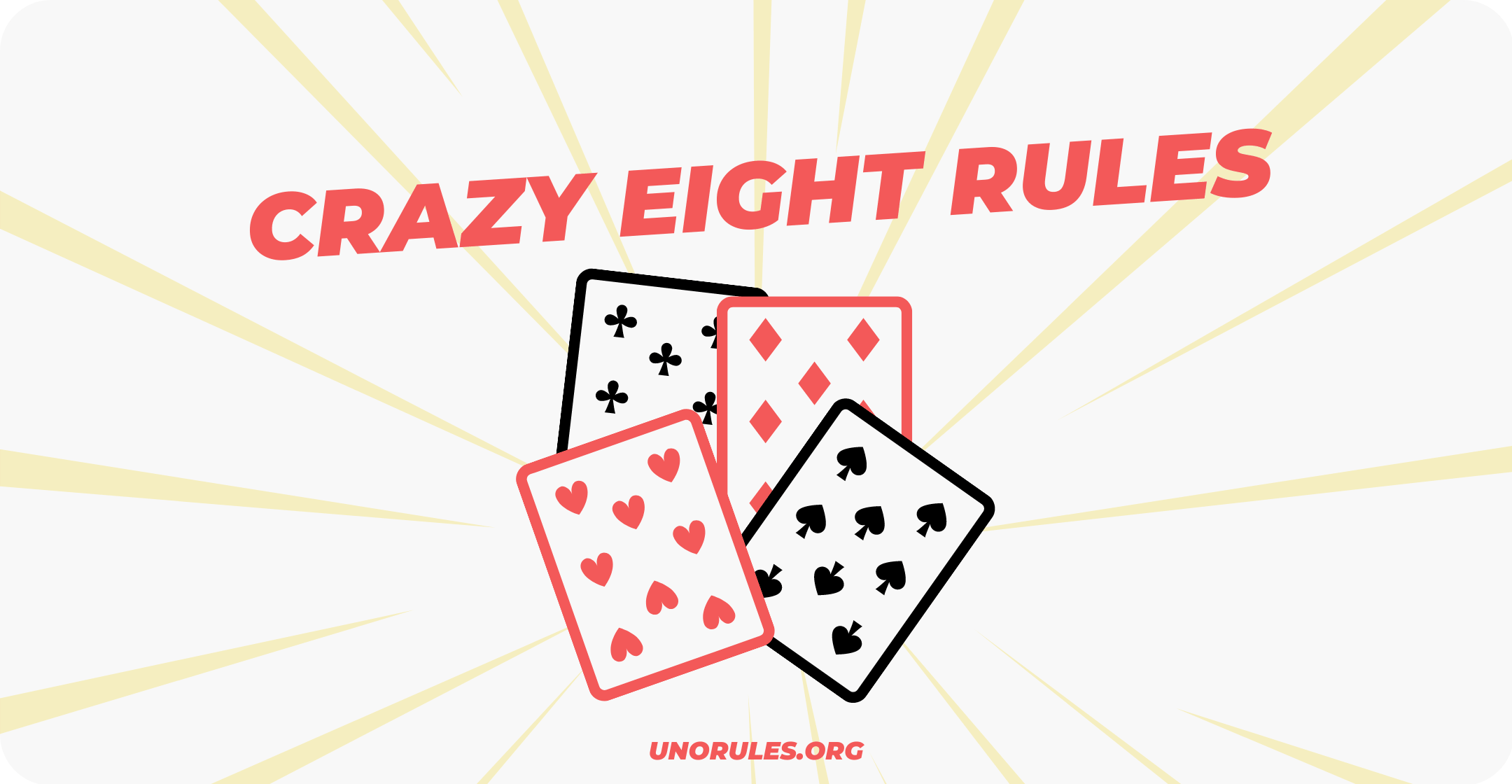 Crazy eights rules
