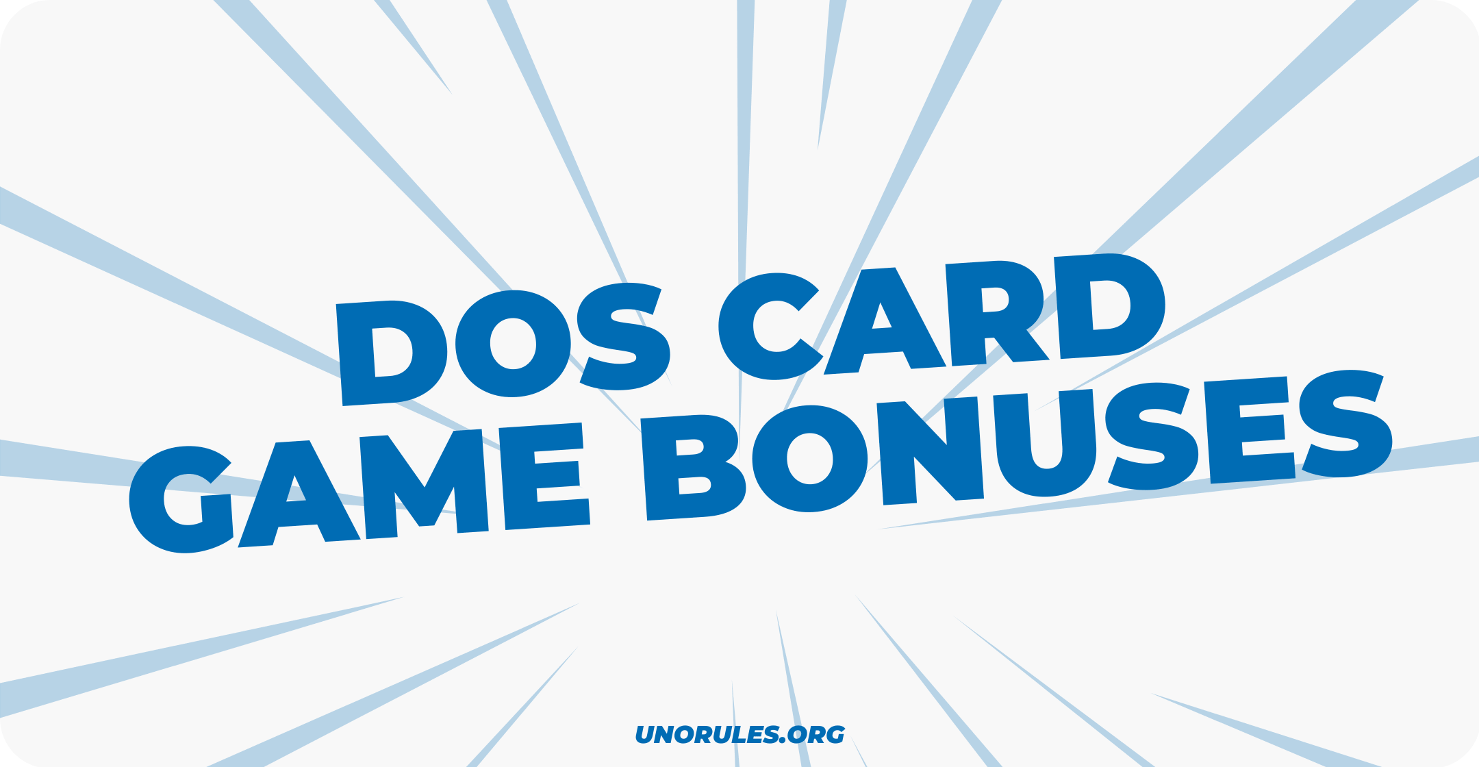 Dos card game bonuses
