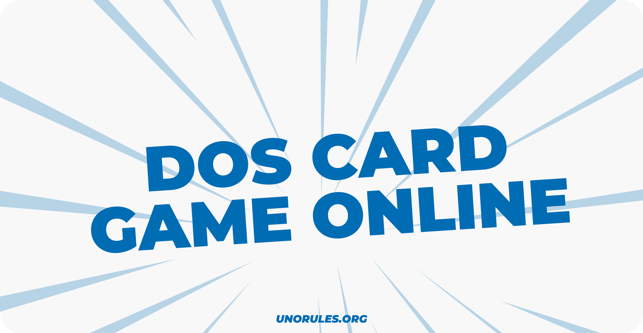 Dos card game online