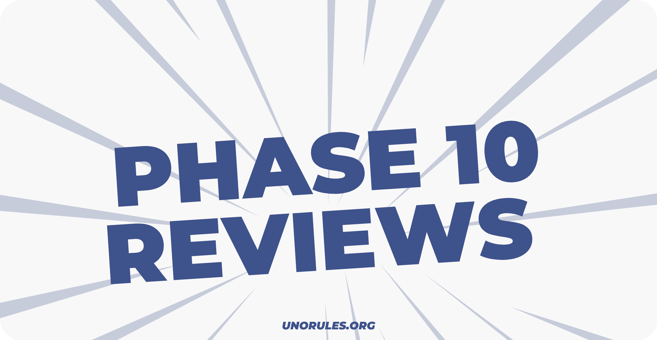 Phase 10 game reviews from players