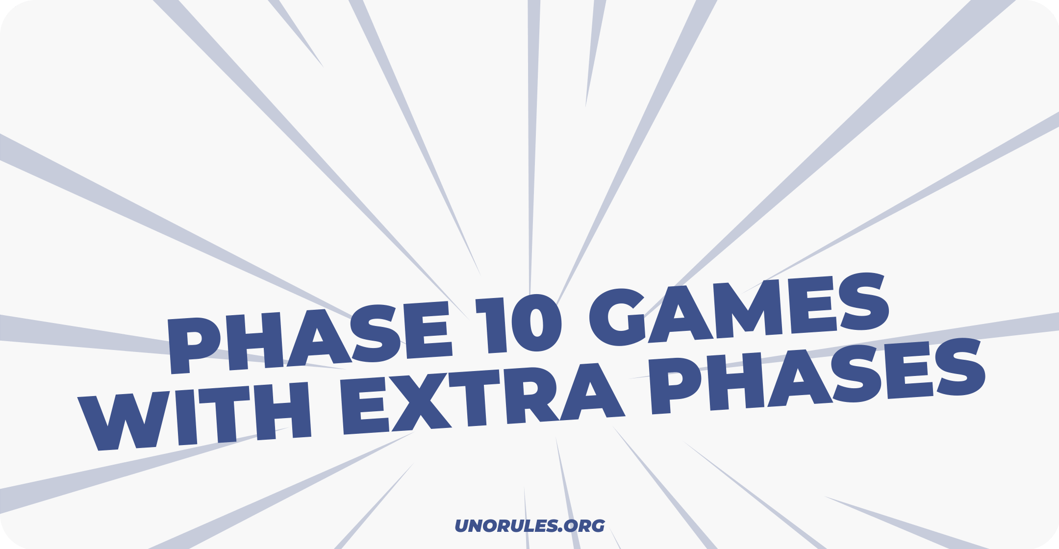 Phase 10 games with extra phases