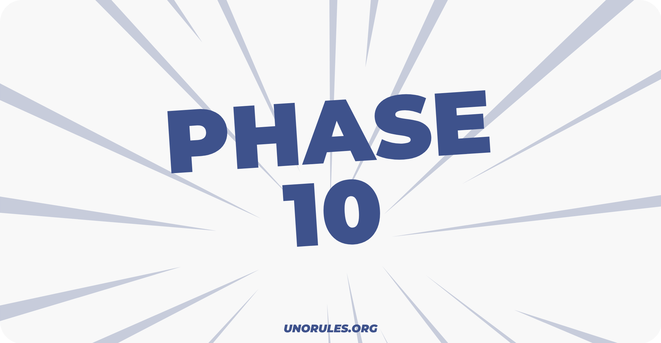Phase 10 rules