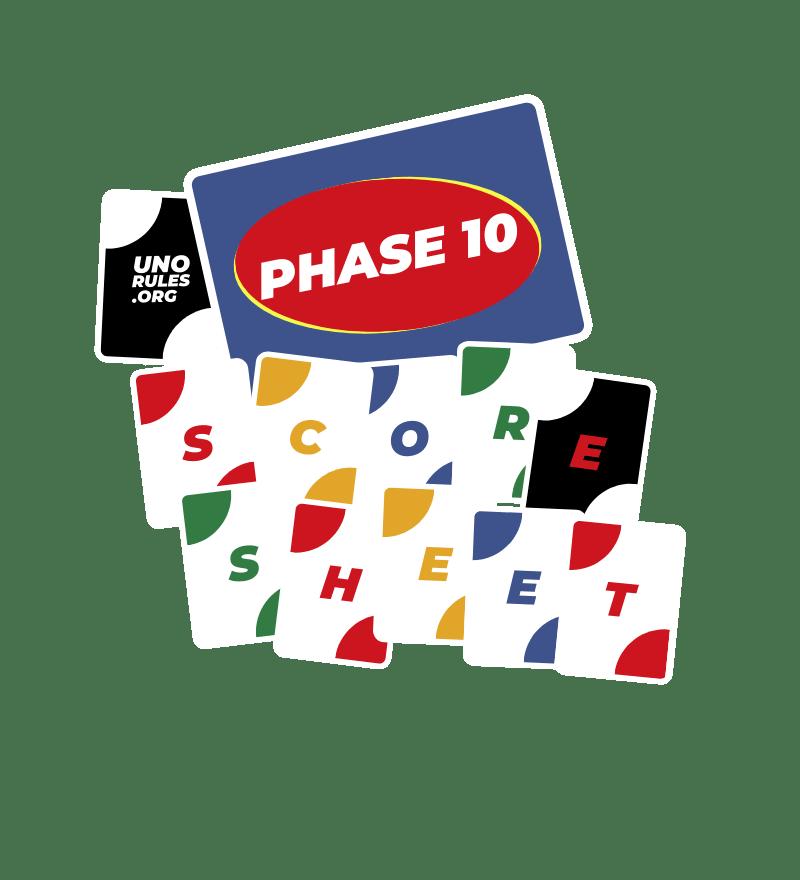 Phase 10 score sheet unorules.org