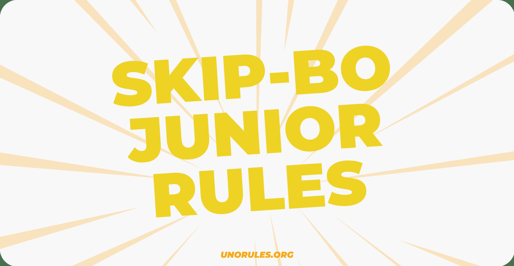 Skip-Bo junior rules