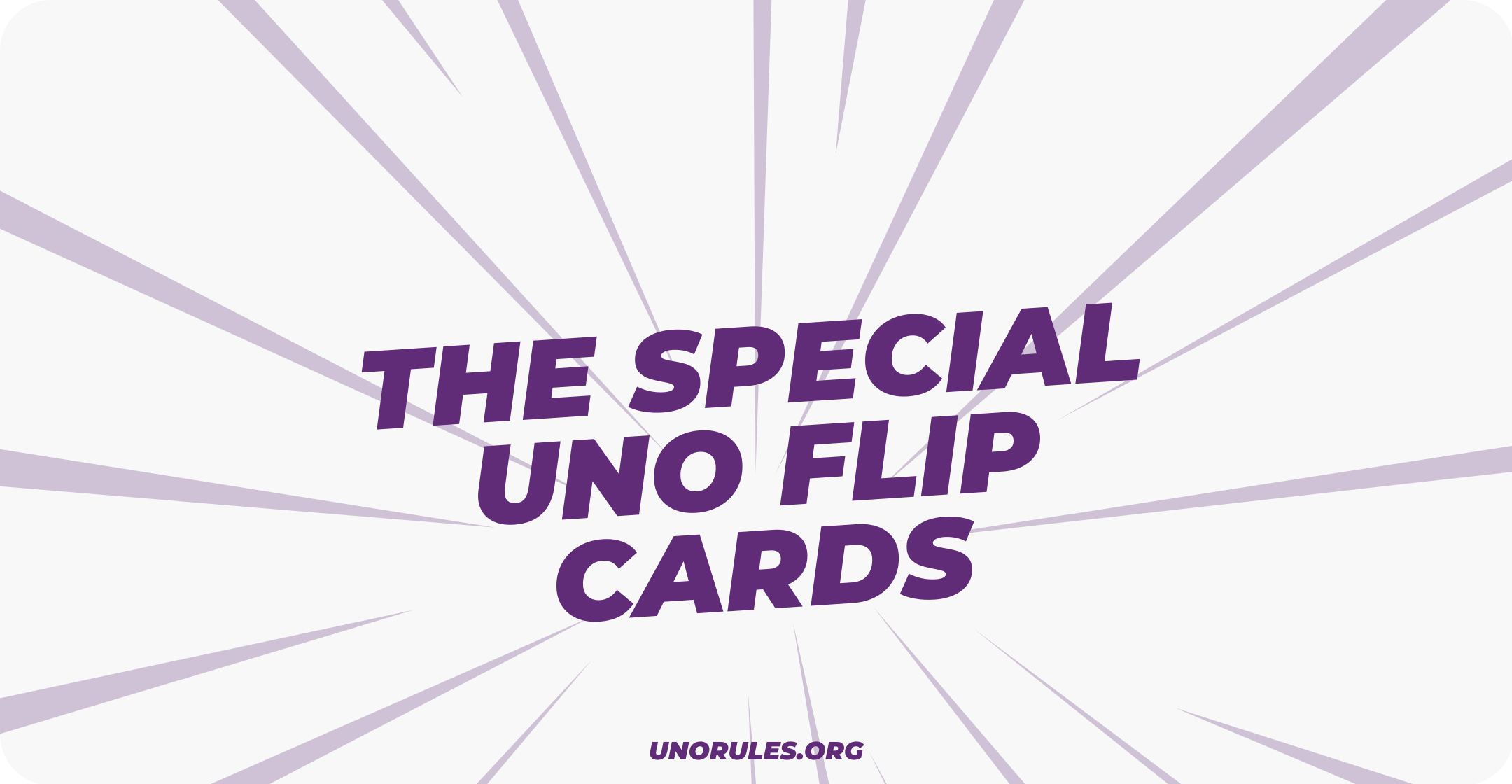The special uno flip cards unorules.org