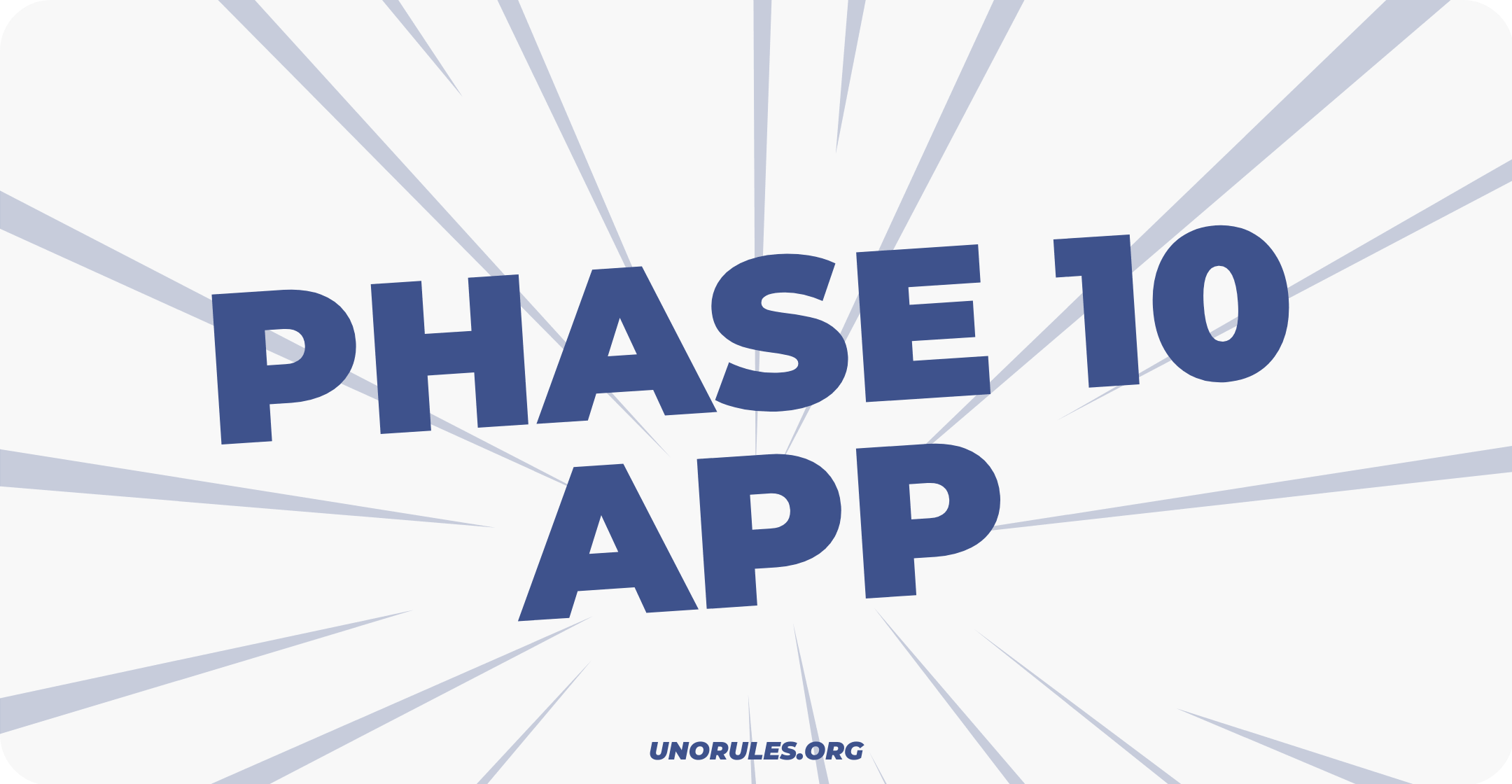 Use a Phase 10 app