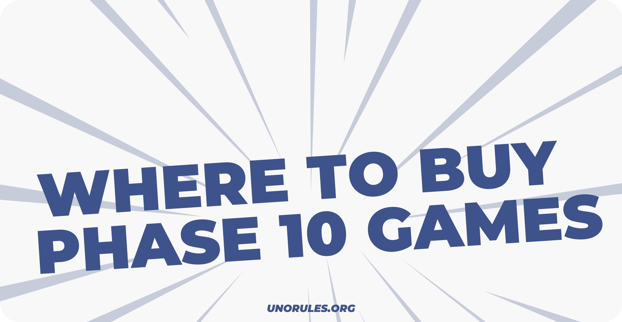 Where can you buy Phase 10 games?