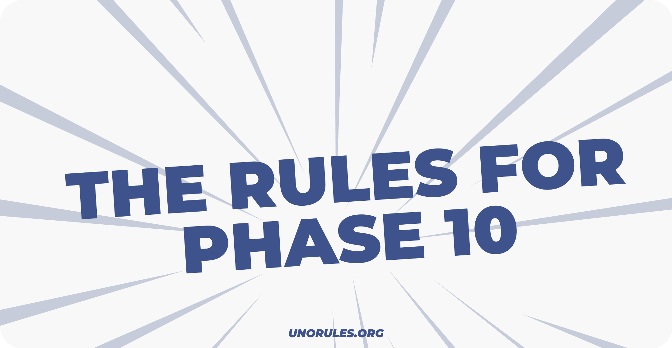 Where can you find the rules for Phase 10?