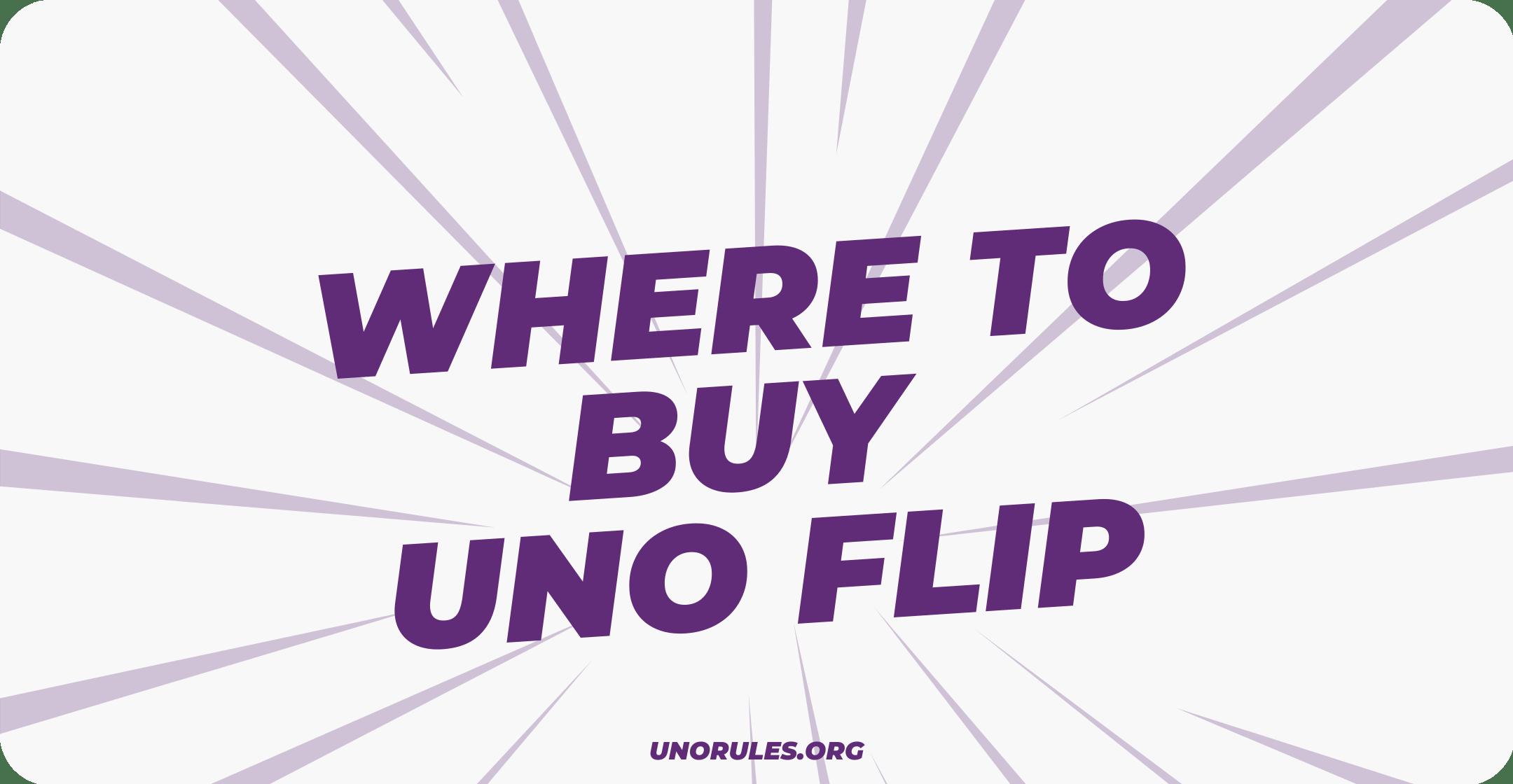 Where to buy uno flip