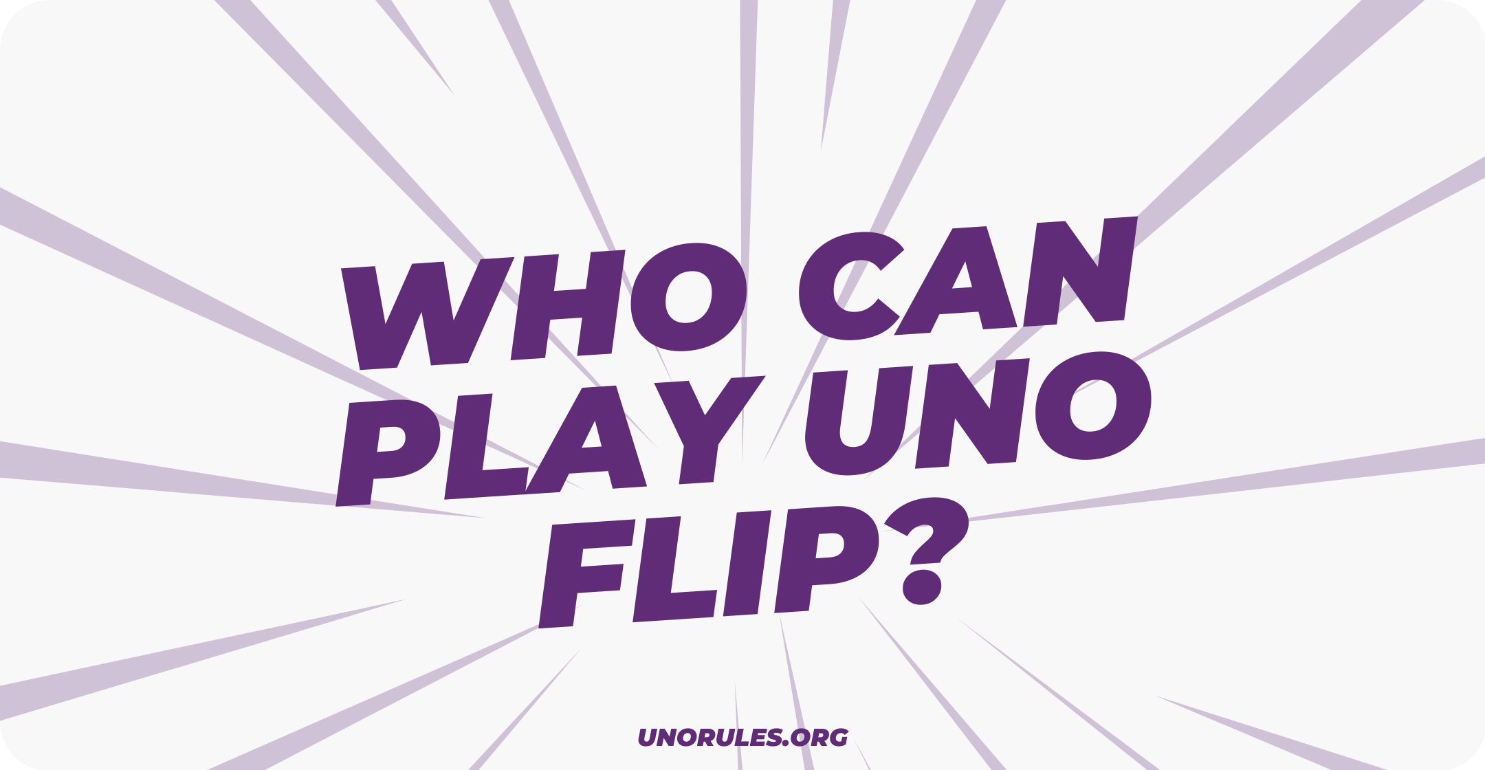 Who can play uno flip
