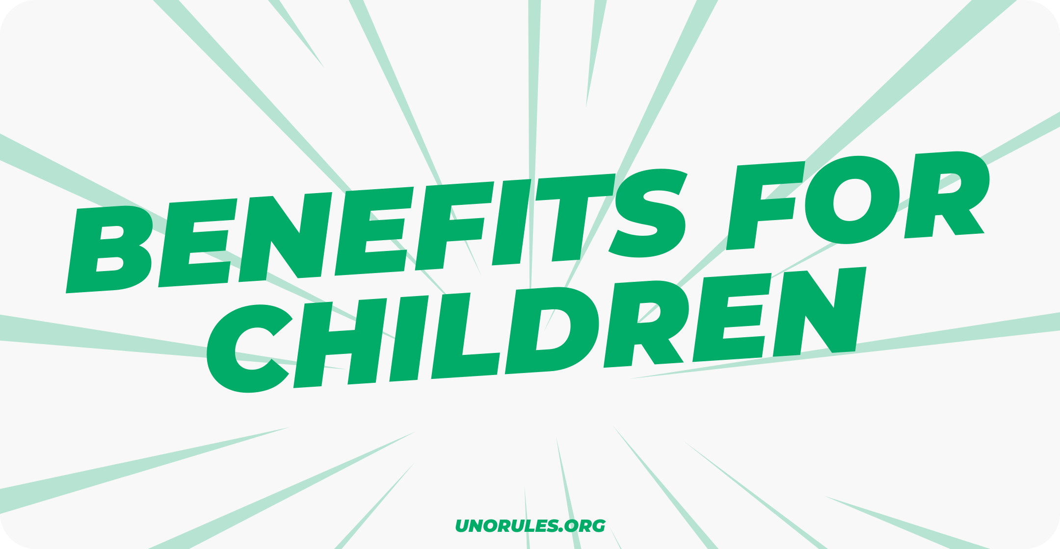 Benefits for children