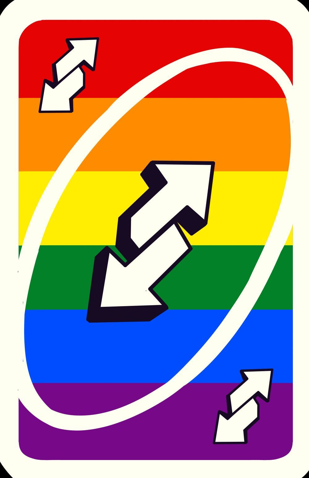 Uno Reverse card pride Unorules.org