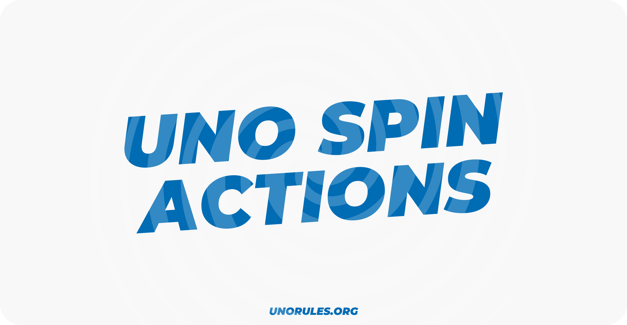 Uno Spin actions