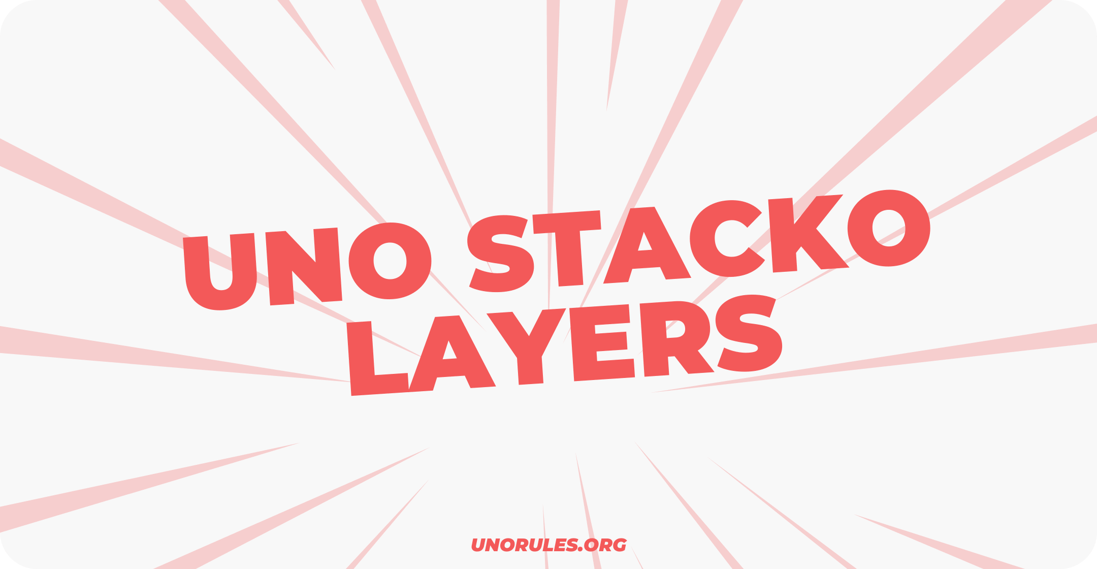 Uno Stacko layers
