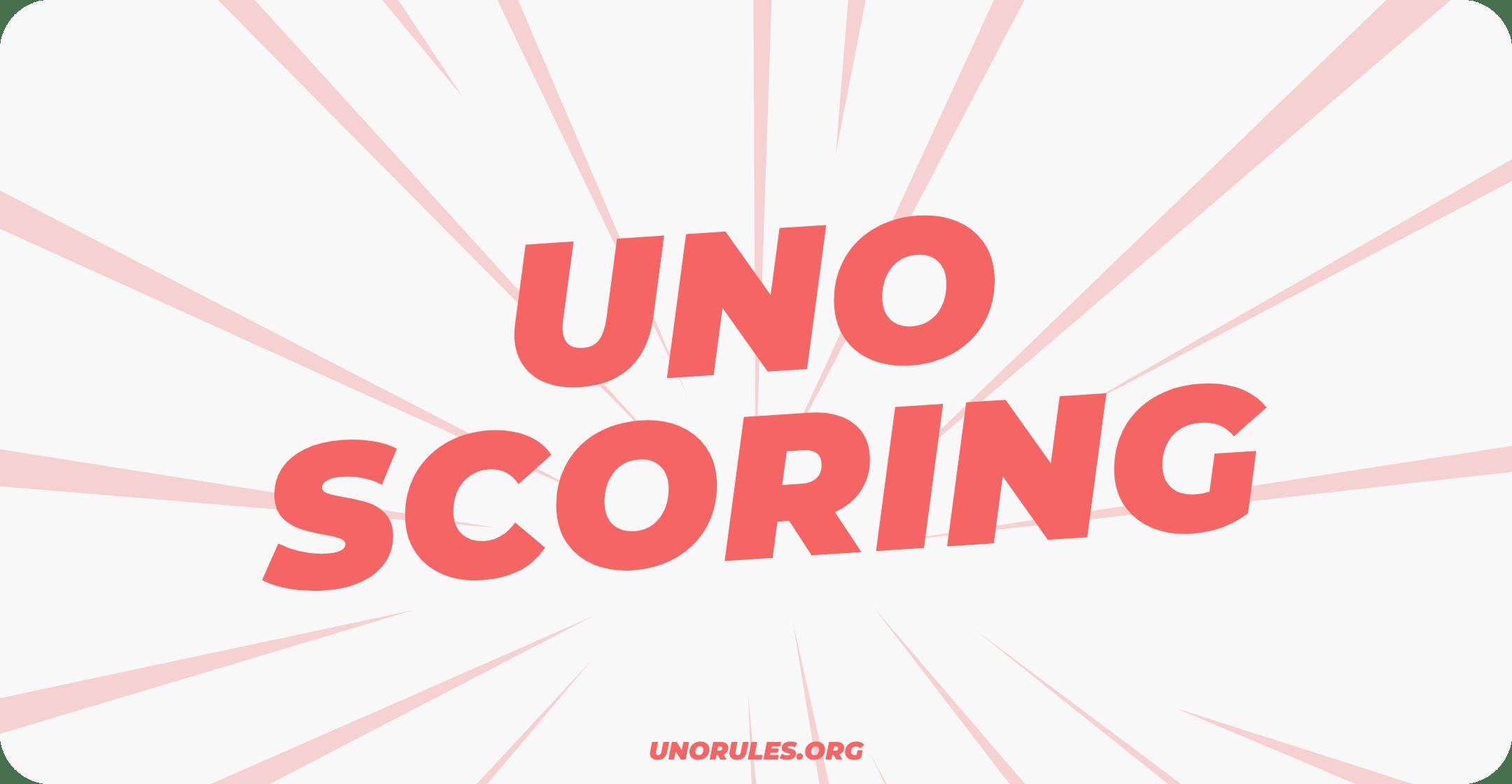 Uno scoring