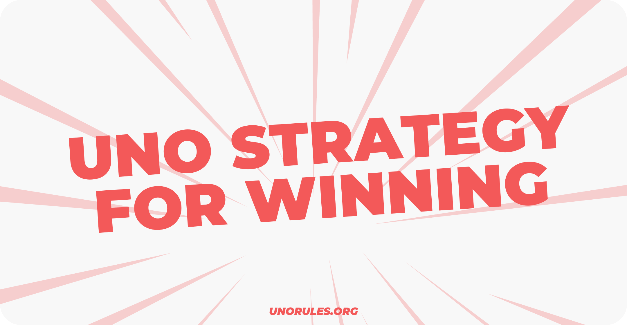 Uno stacko strategy for winning