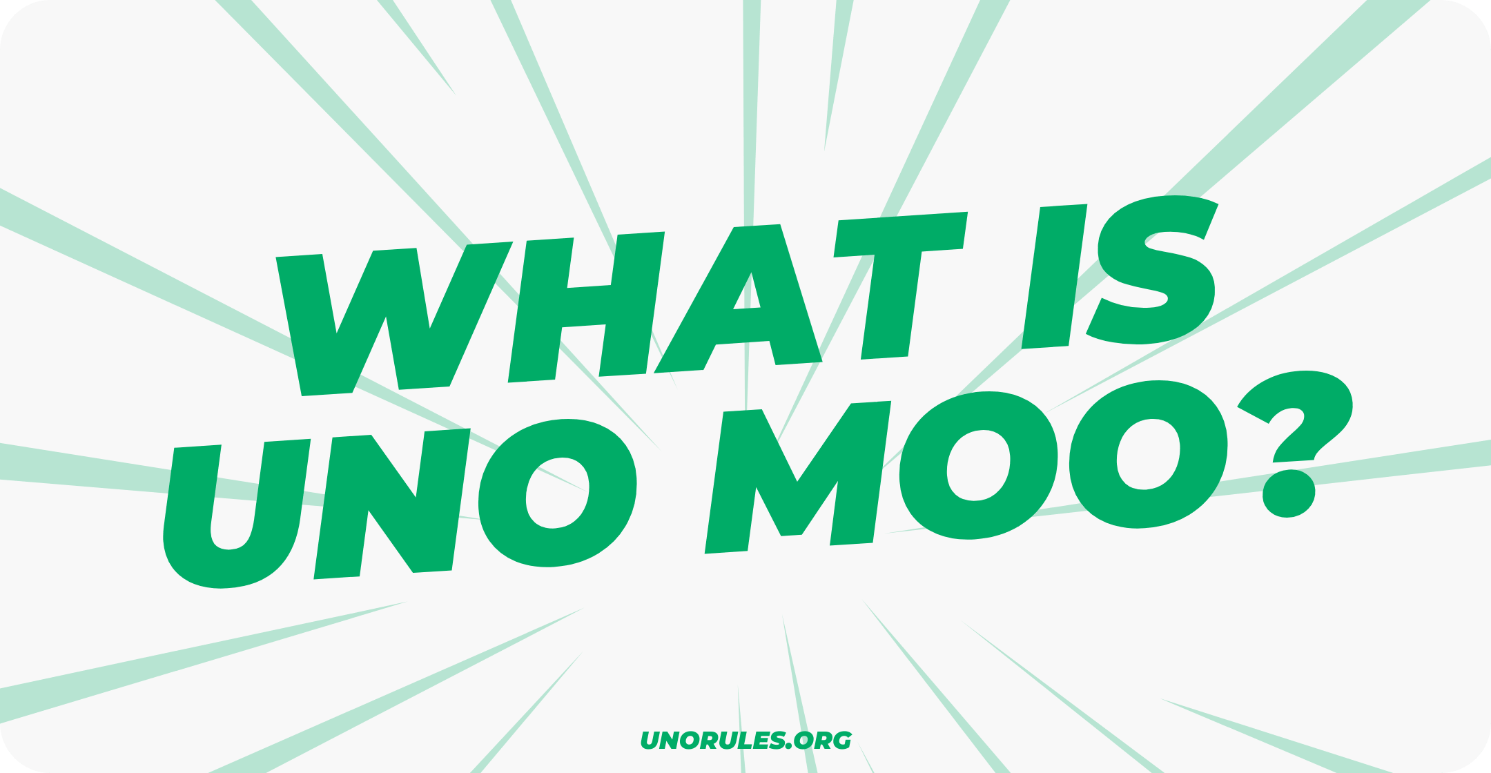 What is uno moo