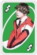 giant bts uno reverse card Unorules.org