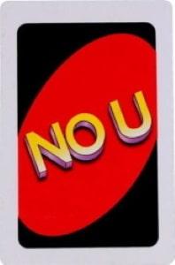 no u uno card Unorules.org